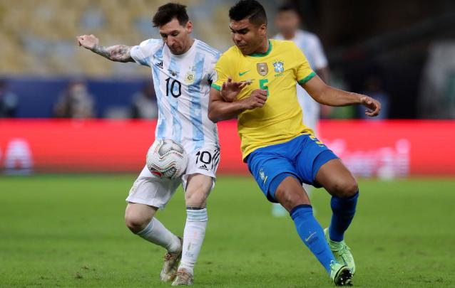 Бразилия срещу Аржентина