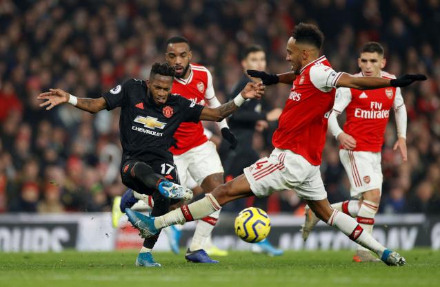 Арсенал срещу Манчестър Юнайтед