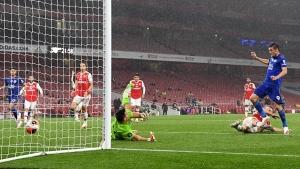Арсенал допусна изравнителен гол от Лестър