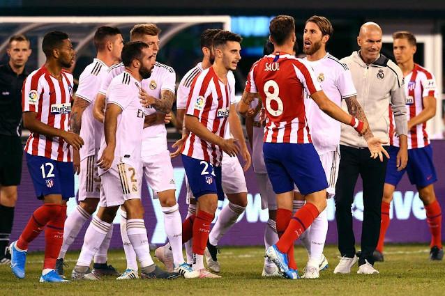 Атлетико Мадрид срещу Реал Мадрид