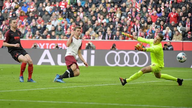 Аугсбург срещу Байерн Мюнхен