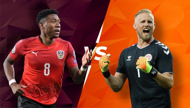 Австрия срещу Дания