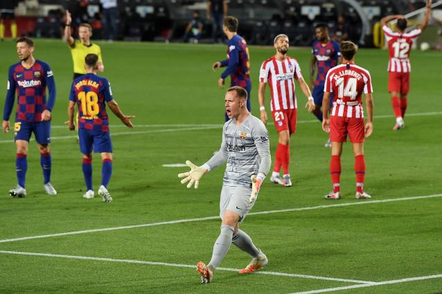Атлетико Мадрид срещу Барселона