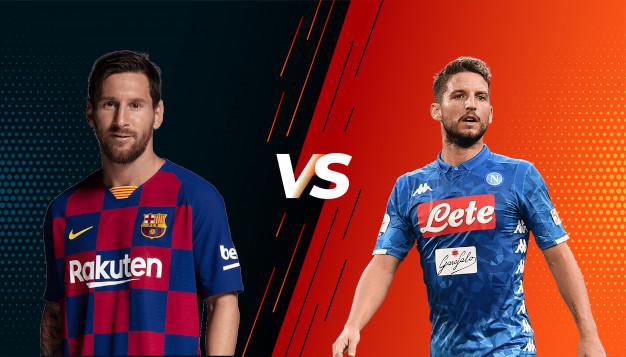 Барселона срещу Наполи