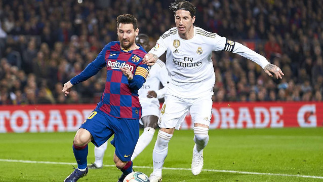 Барселона срещу Реал Мадрид