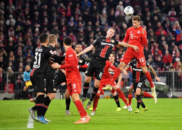 Байер Леверкузен срещу Байерн Мюнхен