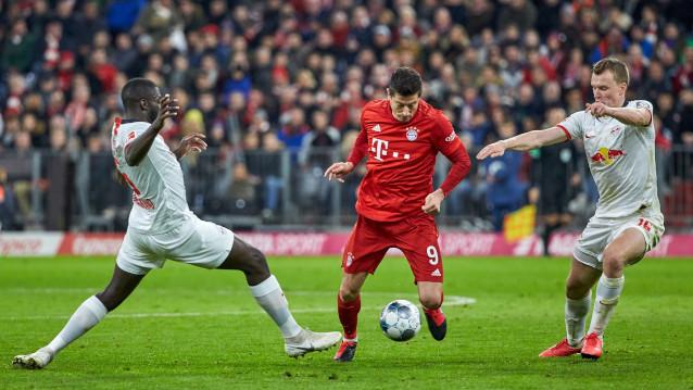 Байерн Мюнхен срещу РБ Лайпциг