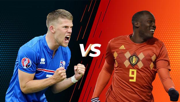 Белгия срещу Исландия