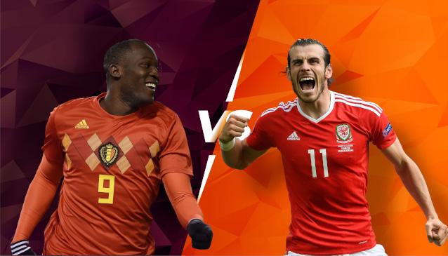 Белгия срещу Уелс