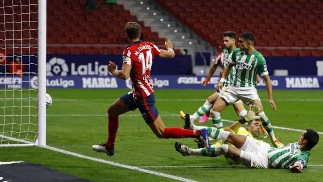 Бетис срещу Атлетико Мадрид