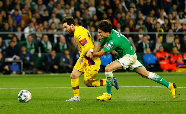 Реал Бетис срещу Барселона