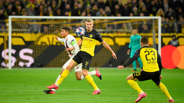 Борусия Дортмунд срещу Борусия Мьонхенгладбах