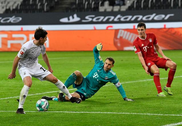 Борусия Мьонхегладбах срещу Байерн Мюнхен