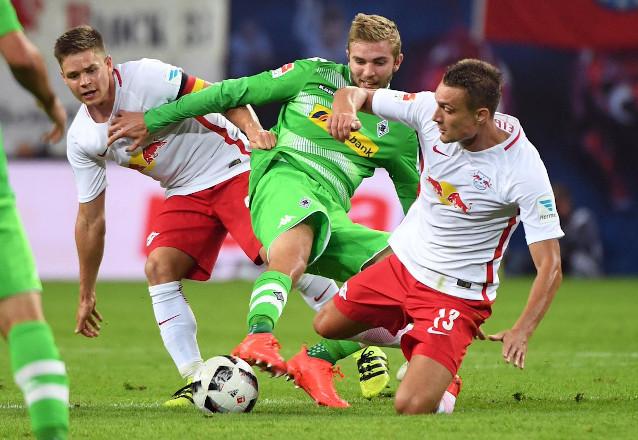 Борусия Мьонхенгладбах срещу Лайпциг