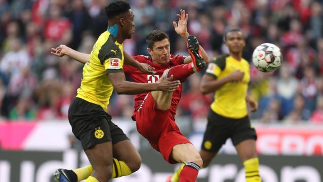 Борусия Мьонхенгладбах срещу Байерн Мюнхен