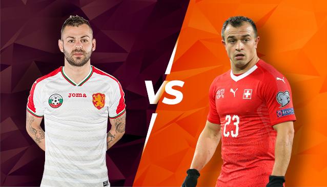 България срещу Швейцария