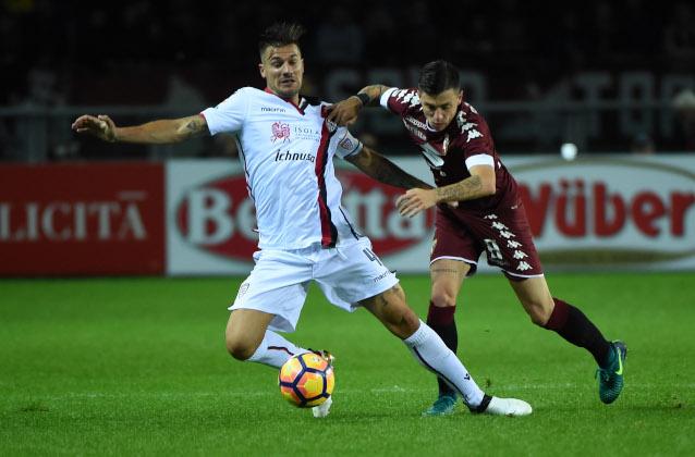Каляри срещу Торино