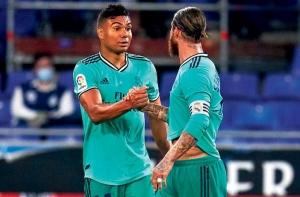 Каземиро донесе важни три точки на Реал в гостуването им на Еспаньол