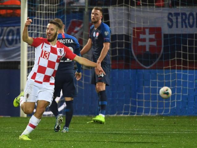 Хърватия срещу Словакия