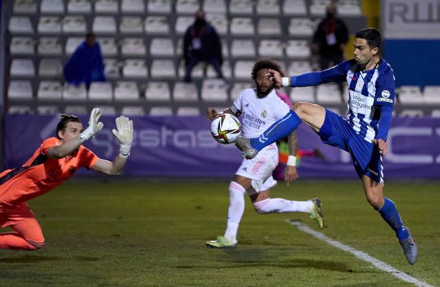 Депортиво Алавес срещу Реал Мадрид