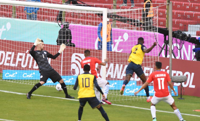 Еквадор срещу Чили