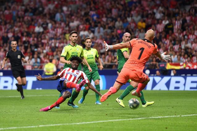 Ейбар срещу Атлетико Мадрид
