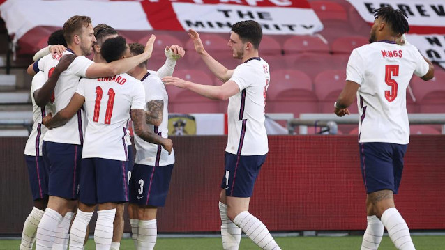 Англия срещу Румъния