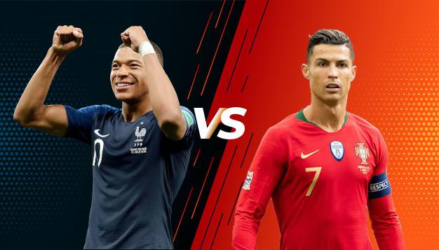Франция срещу Португалия