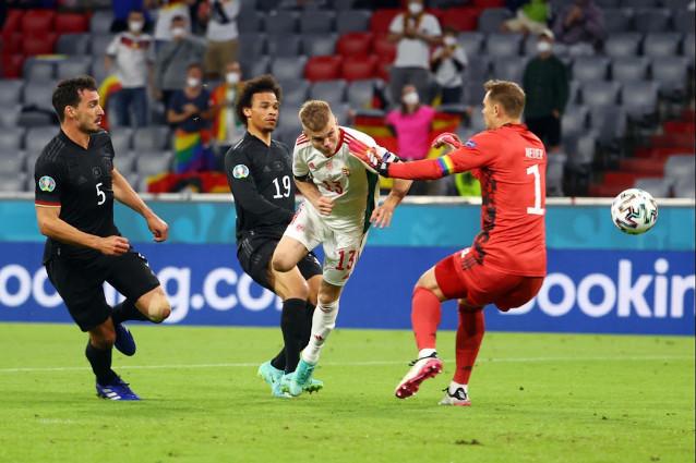 Англия срещу Германия