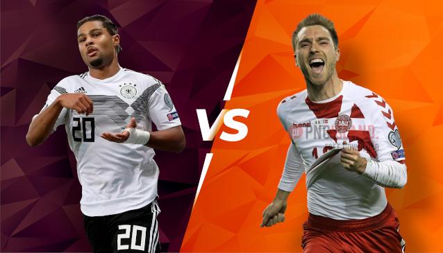 Германия срещу Дания