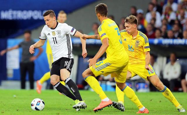 Германия срещу Украйна