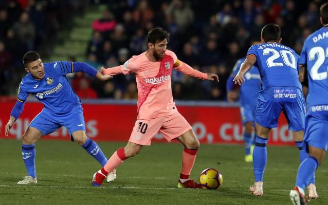 Хетафе срещу Барселона