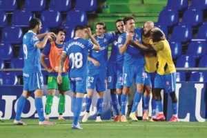 Хетафе се доближи до кота Шампионска лига след успех над Сосиедад