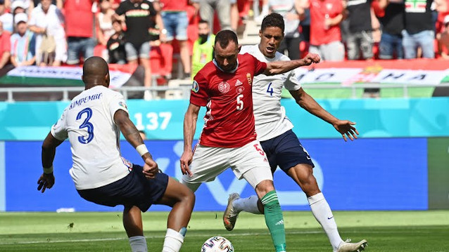 Германия срещу Унгария