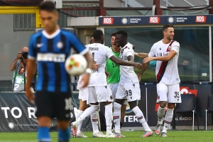 Интер се прости с трофея в Серия А след загуба от Болоня