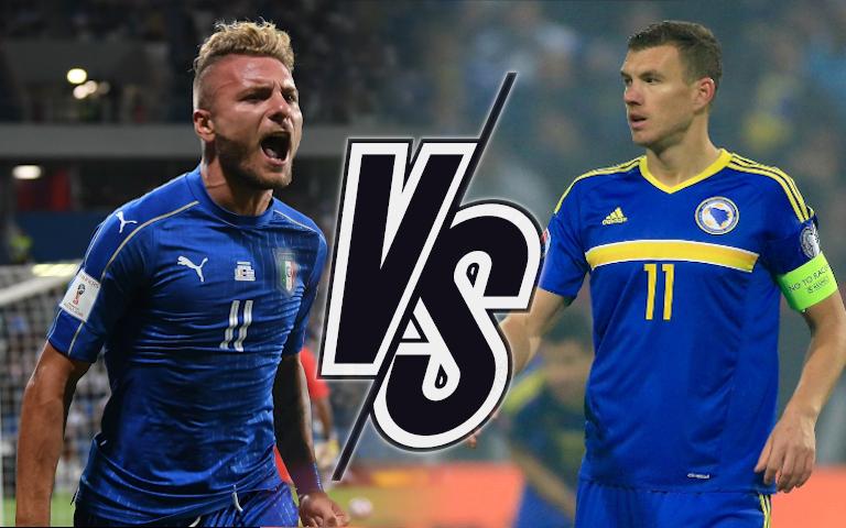 Италия срещу Босна и Херцеговина