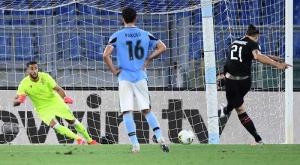 Лацио бе спрян от Милан към трофея в Серия А
