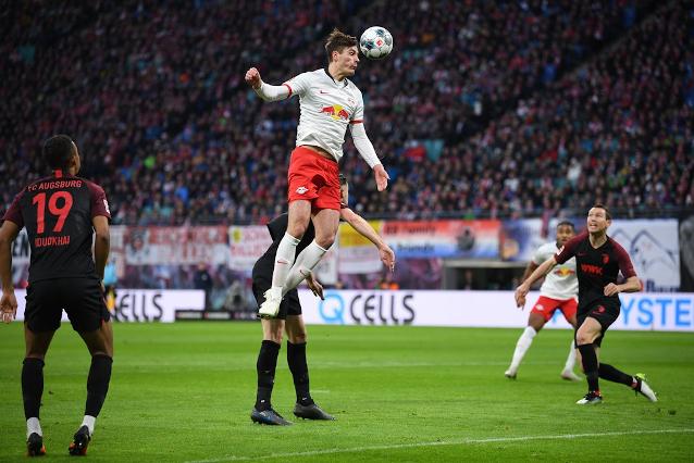 Лайпциг срещу Аугсбург