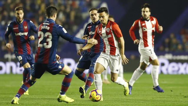 Леванте срещу Атлетик Билбао