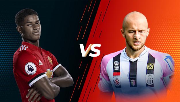 Манчестър Юнайтед срещу ЛАСК Линц