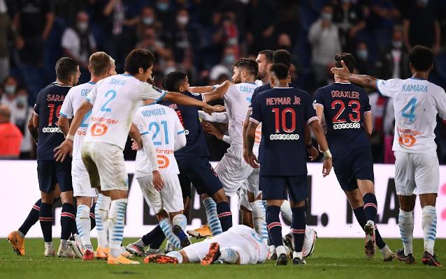 Марсилия срещу Пари Сен Жермен