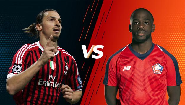 Милан срещу Лил