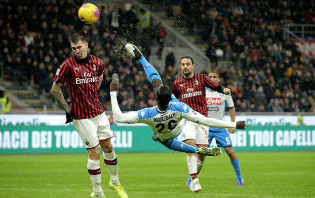 Милан срещу Наполи