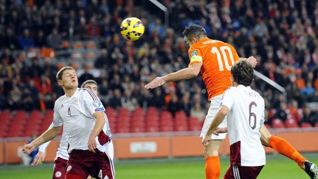 Нидерландия срещу Латвия