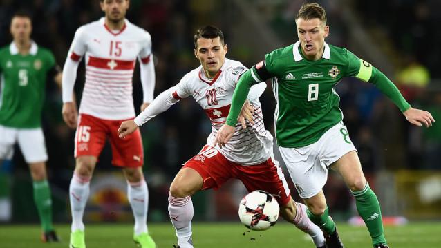 Швейцария срещу Северна Ирландия