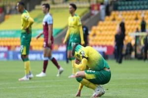 Норич изпадна от Висшата Лига след загуба от Уест Хем