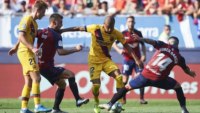 Осасуна срещу Барселона