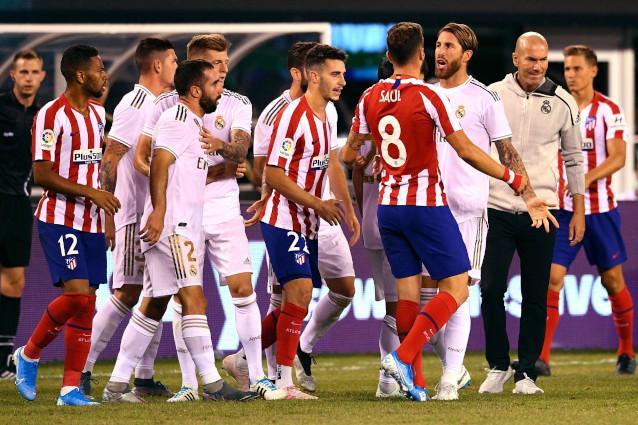Реал Мадрид срещу Атлетико Мадрид