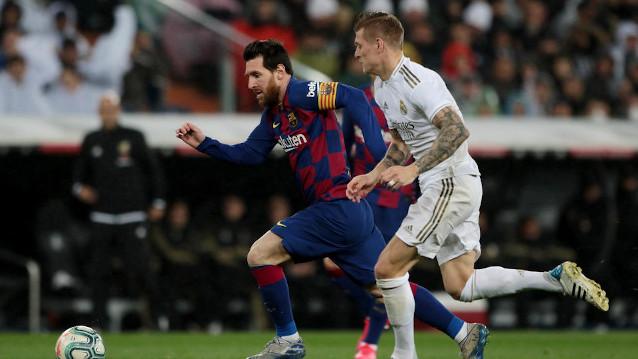 Реал Мадрид срещу Барселона