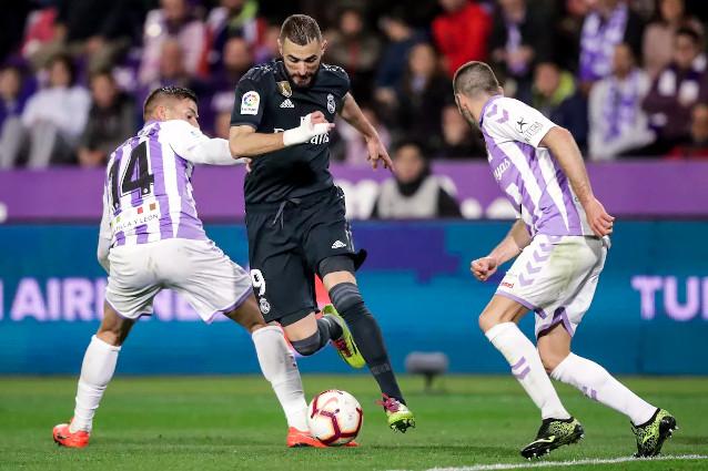 Реал Мадрид срещу Валядолид